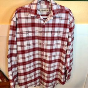 Cody James Large Tall western shirt snap front